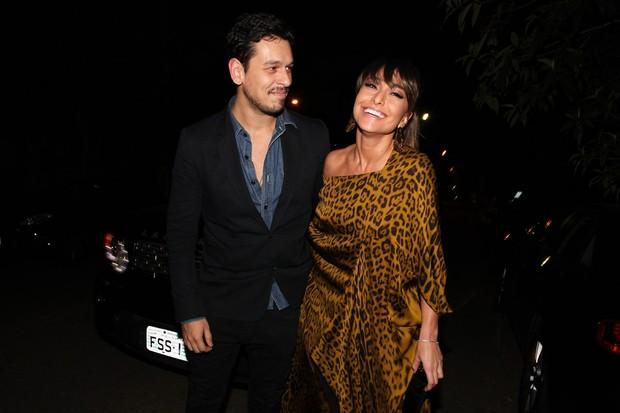 O sorrisão de Sabrina Sato e João Vicente de Castro (Foto: Manuela Scarpa/Foto Rio News)