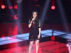 Lorena Lessa disputa quarto dia de etapa ao vivo com canção de Marina