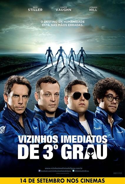 Cartaz do filme Vizinhos Imediatos de 3º Grau (Foto: divulgação)