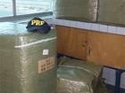 PRF apreende 6 mil óculos, crack e arma durante fiscalizações no RN