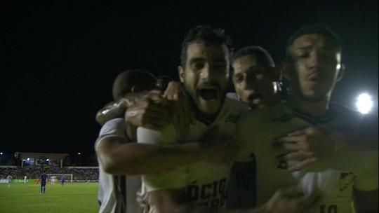 Autor de gol sobre Sinop, Dourado diz que vitória dá confiança para Fla-Flu