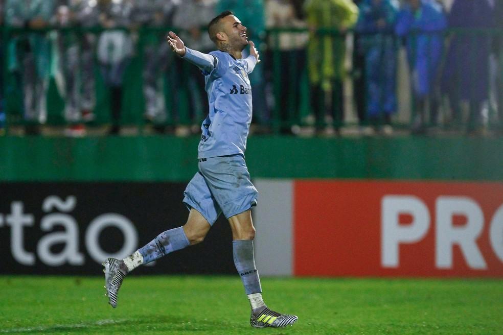 Luan é o jogador mais valorizado do grupo do Grêmio (Foto: Lucas Uebel / Grêmio, DVG)