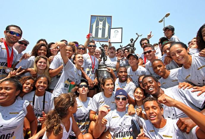 Botafogo, Campeonato esatdual de Remo (Foto: Vitor Silva / SSpress)