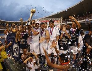 Clube do Remo comemora a conquista do 2º turno do Campeonato Paraense 2012 (Foto: Tarso Sarraf/O Liberal)