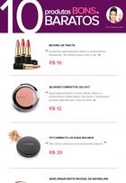 Batom, blush, rímel... Blogueira dá dicas de produtos bons e baratos