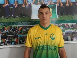 Atacante Marcelo Toscano reforço do Cuiabá (Foto: Assessoria/Cuiabá Esporte Clube)