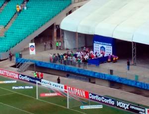 Flu de Feira; Arena Fonte Nova; Copa Governador do Estado (Foto: Thiago Pereira)
