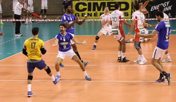 Cruzeiro x Campinas. Superliga (Foto: Divulgação/ Cruzeiro)