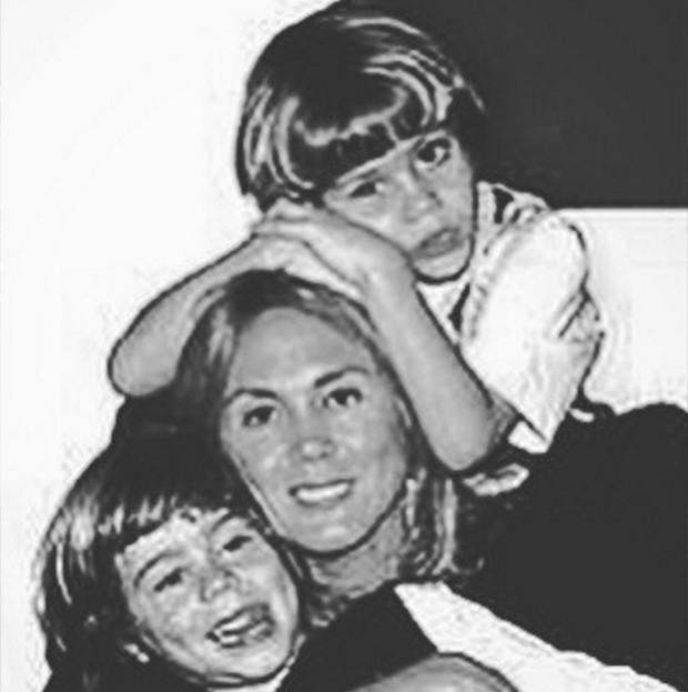 João Victor Marcari Oliva com a mãe, Hortência Marcari (Foto: Reprodução/ Instagram)