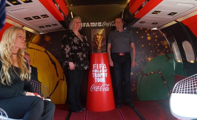 Ted Moore Tour da Taça Inglaterra (Foto: Joel Robison)