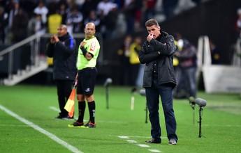 Mancini admite que vai poupar titulares da partida contra o Coritiba