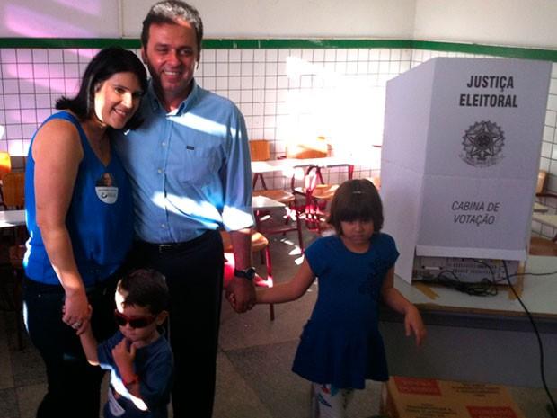 Carlos Eduardo, candidato do PDT à Prefeitura de Natal (Foto: Igor Jácome/G1)
