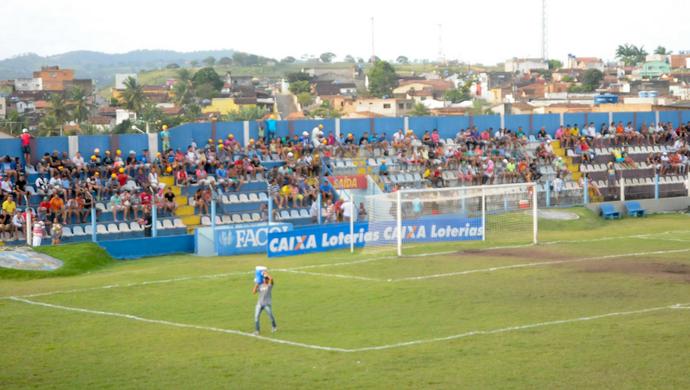 Estádio Carneirão, vitória de santo antão (Foto: Divulgação / FPF-PE)