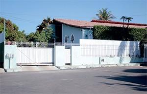 SEGREDO A casa onde funciona o site Muda Mais, em Brasília. A segurança foi reforçada para evitar olhares curiosos (Foto: Bruno Spada/ÉPOCA)