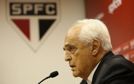 Carlos Augusto Barros e Silva, o Leco, presidente do São Paulo (Foto: Igor Amorim / São Paulo FC)