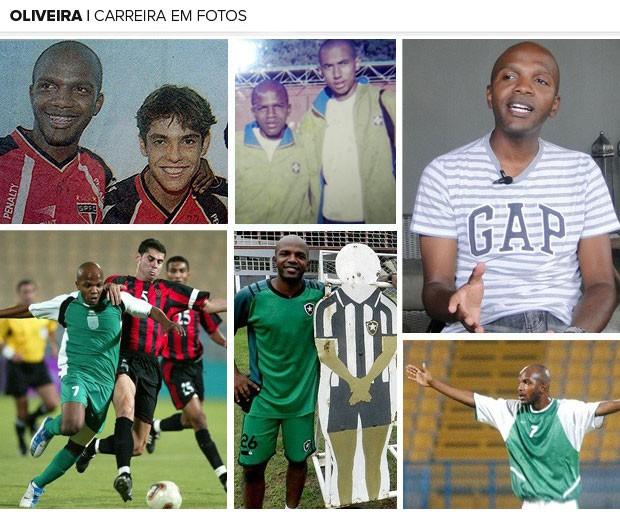 Mosaico - Ex-jogador Oliveira (Foto: Arquivo Pessoal)