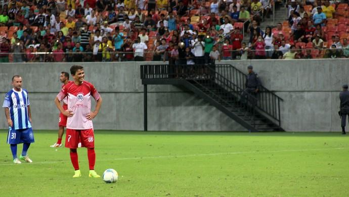 """Bebeto participa de jogo comemorativo entre """"Amigos do Aldo"""" e """"Amigos do Delmo"""" (Foto: Isabella Pina)"""