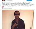 """Ronaldinho posta a caminho da Sapucaí: """"Hoje o bicho vai pegar"""""""