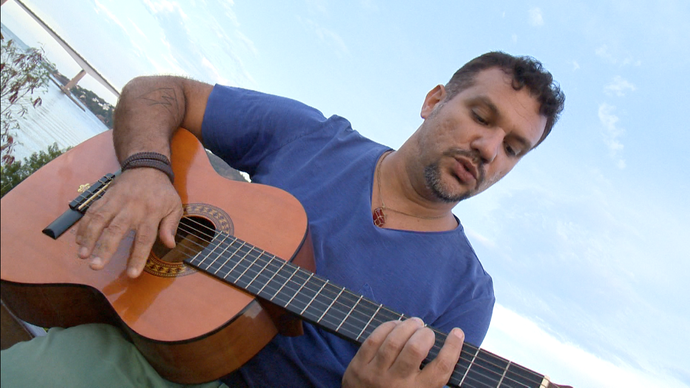 Gustavo Macacko é uma das atrações no Projeto Tamar (Foto: Divulgação / TV Gazeta ES)