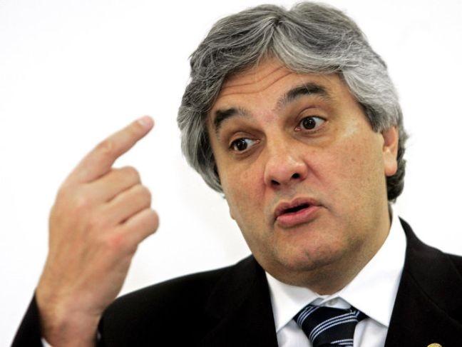 Senador Delcídio Amaral (PT-MS) (Foto: Evaristo Sá / AFP)