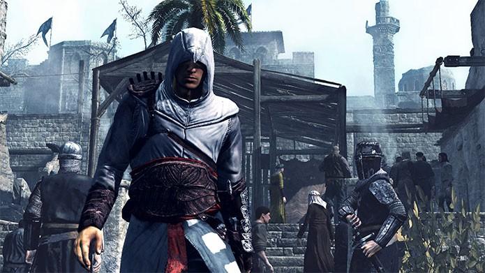 Altaïr Ibn-LaAhad em Assassins Creed 1 (Foto: Divulgação)