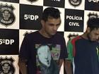 Polícia apresenta suspeitos de fazer arrastão durante velório em Goiânia