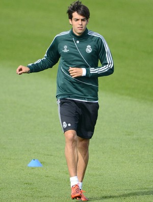 Kaká treino Real Madrid (Foto: AFP)