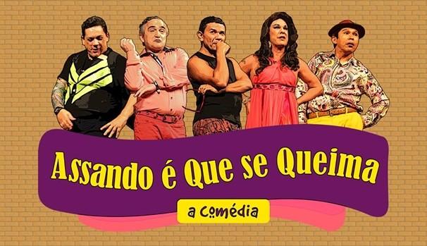 """Grandes humoristas cearenses estão no elenco de """"Assando É Que Se Queima"""". (Foto: Divulgação)"""
