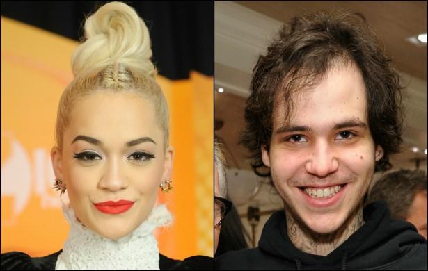 E logo Rita Ora arranjou nova companhia. Ela agora namora o rapper Ricky Hil, filho do estilista Tommy Hilfiger. (Foto: Getty Images)