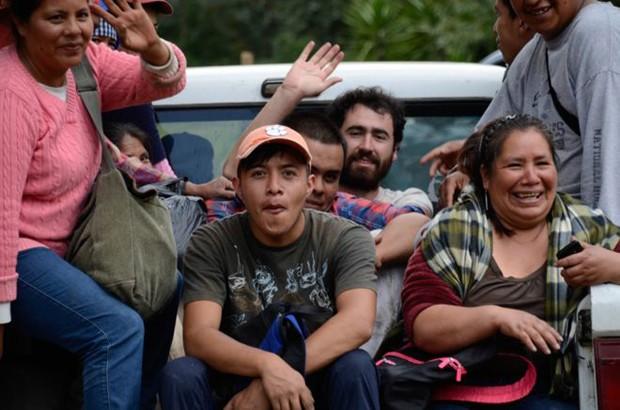 População de Cherán defendeu sua floresta de madeireiros armados - e aproveitou para já expulsar também policiais e políticos ao mesmo tempo (Foto: BBC)