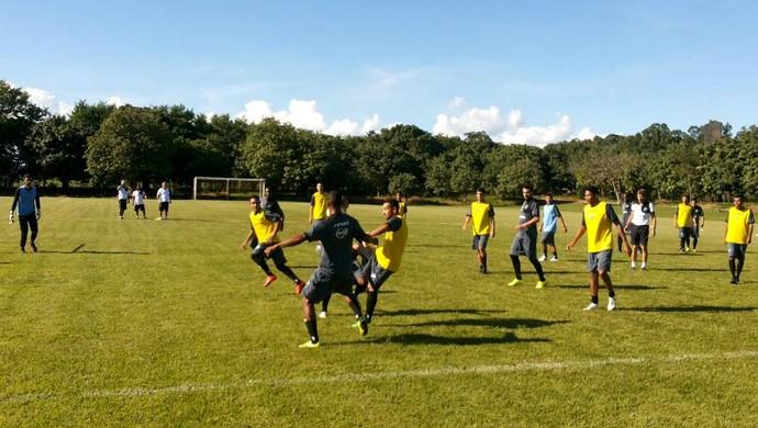 ABC fez o último treino antes do jogo contra o Goianésia, pela Copa do Brasil (Foto: Divulgação/ABC)