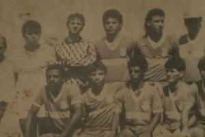 Rogério Ceni; Sinop; Campeão estadual de 1990 (Foto: Reprodução SporTV)