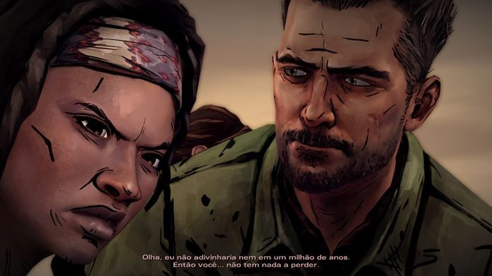 The Walkind Dead: Michonne, novo game da franquia (Foto: Reprodução / Dario Coutinho)