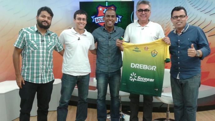 Boleiragem FC, programa Mato Grosso (Foto: Hudson Branco/TVCA)