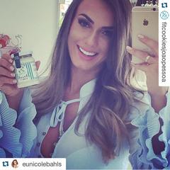 Nicole Bahls foi uma das celebridades que aderiram aos doces fitness (Foto: Reprodução/Instagram)