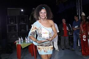 Andrea Bionda em evento em São Paulo (Foto: Celso Tavares/ EGO)