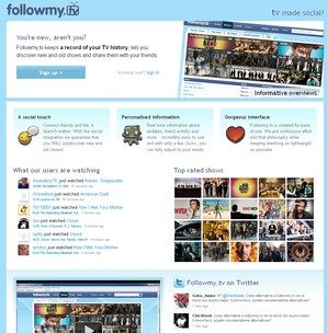 followmy.tv rede social para seriados