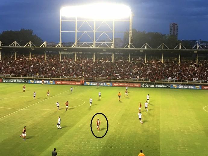 Mancuello Flamengo x Macaé (Foto: Amanda Kestelman)