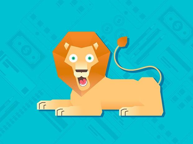 leão (Foto: G1)