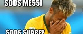 Neymar zoações após derrota