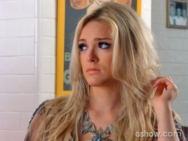 Megan não aceita sair dos Estados Unidos (Foto: Geração Brasil / TV Globo)