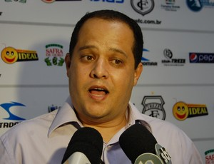 Hênio Galdino, vice-presidente do Treze (Foto: Silas Batista / Globoesporte.com/pb)
