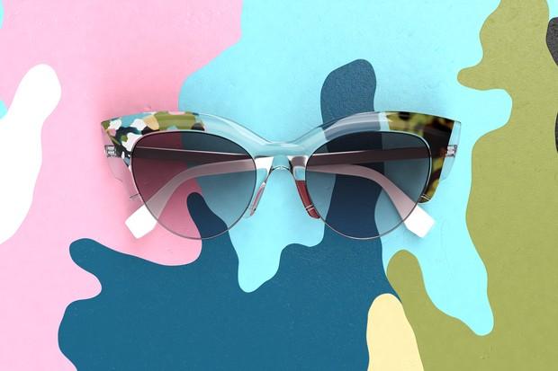 Novidade no verão 2016 da Fendi, Jungle Sunglasses (Foto: Reprodução)