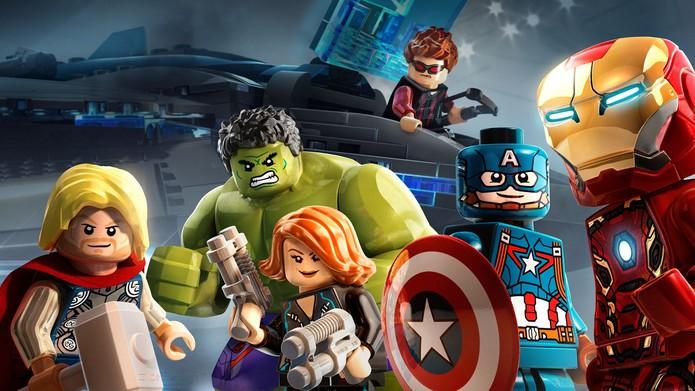 LEGO Vingadores na PSN (Foto: Divulgação/Warner)