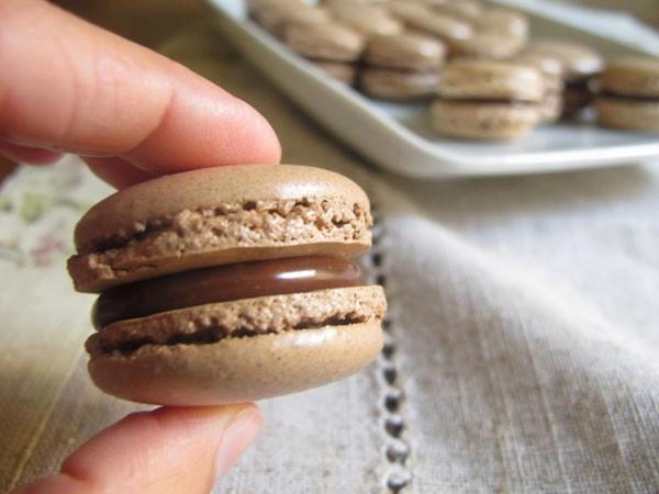 Macaron de chocolate (Foto: Divulgação)