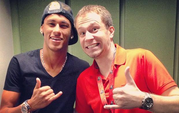 Neymar Tiago Leifert Instagram (Foto: Reprodução / Instagram)