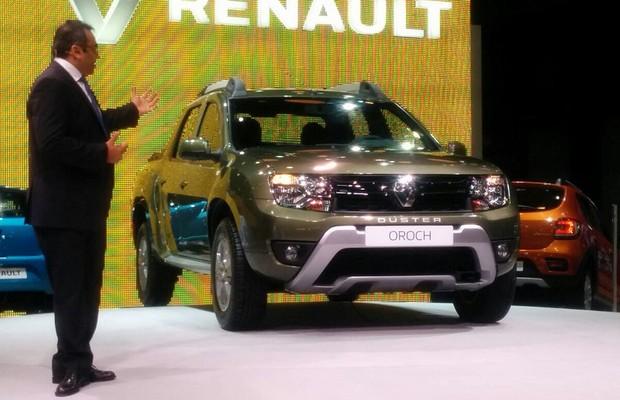 Renault Duster Oroch (Foto: Alexandre Izo/ Autoesporte)