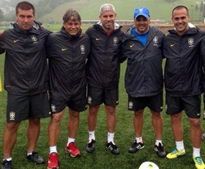 Marcelo Veiga, técnico do Guarani, participa de curso de treinadores na CBF (Foto: Arquivo Pessoal)