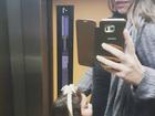 Mariana Belém mostra foto da filha dando beijo em sua barriga de grávida