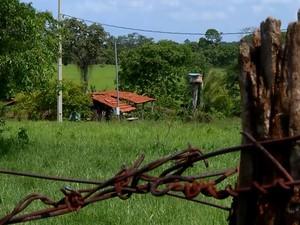 Comunidade Quilombola Frutal (Foto: Reprodução/TV Integração)
